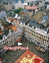 hotel carrefour de l`Europe grand place bruxelles