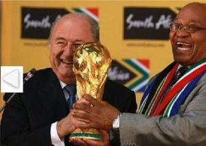 blatter zuma world cup