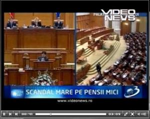 legea pensiilor frauda - preluare videonews antena 3