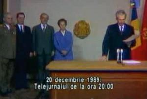 ceausescu discurs 20 decembrie 1989