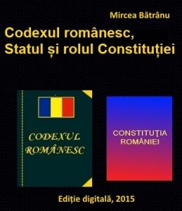 coperta - Codexul românesc, Statul și rolul Constituției